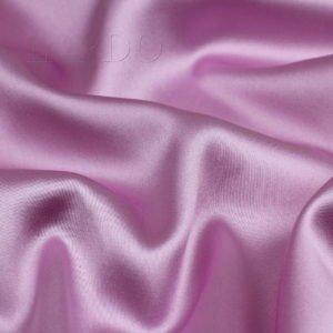 Атлас стретч шёлковый холодный розовый цвет