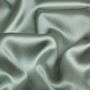 Атлас стретч шёлковый светло-голубой