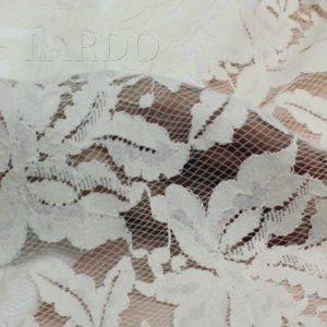 Кружевное полотно кордовое цвета айвори