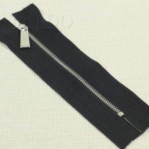 Молния PINKO, неразъёмная, однозамковая, 21 см, №3, чёрная