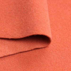 Пальтовая ткань светло-терракотовая
