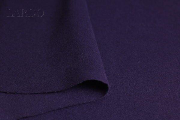 Велюр пальтовый фиолетовый