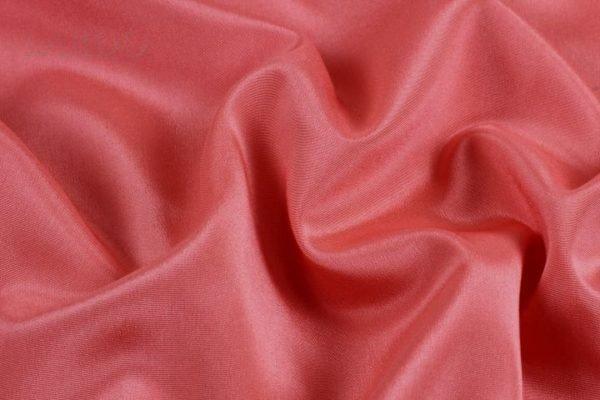 Подкладочная ткань стретч коралловая