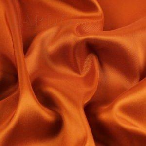 Подкладочная ткань стретч ярко-оранжевая