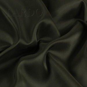 Подкладочная ткань стретч хаки Италия Состав: вискоза 50 %, синтетические волокна 44 %, эластан 6 % Плотность ≈ 75 г/м ² Ширина 134 см