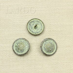 Пуговица гербметалл с патиной ∅ 2,4 см