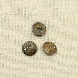 Пуговица состаренная металл оксид с патиной ∅ 1,8 см