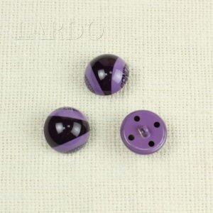 Пуговица фиолетовая пластик ∅ 2,1 см