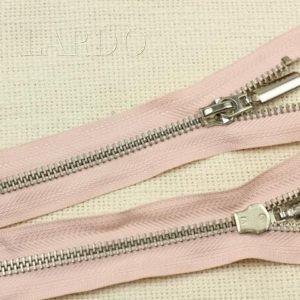 Молния разъёмная, однозамковая, 30 см, №5, розовая