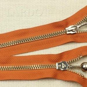 Молния LAMPO разъёмная, однозамковая, 60см, №5, оранжевая