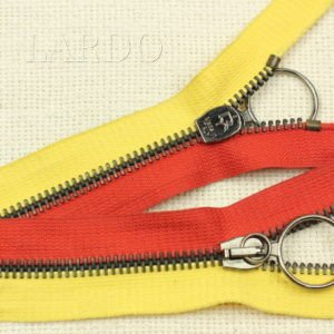 Молния PINCO PALLINO разъёмная, однозамковая, 60см, №5, жёлто-красная