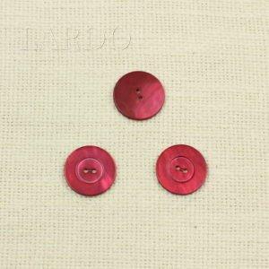 Пуговица перламутр малиновый ∅ 2,2 см