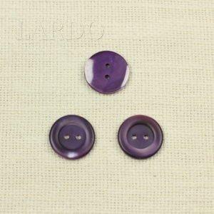 Пуговица перламутр фиолетовый ∅ 2,5 см