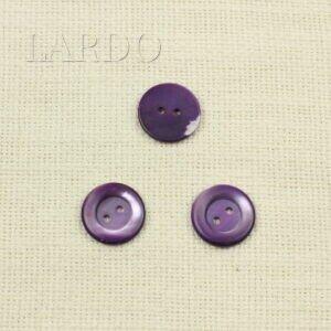 Пуговица перламутр фиолетовый ∅ 2,2 см