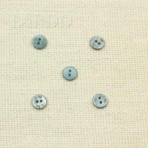 Пуговица перламутр серо-голубой ∅ 1,1 см