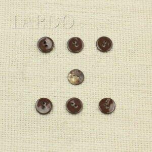 Пуговица перламутр коричневый ∅ 1,1 см