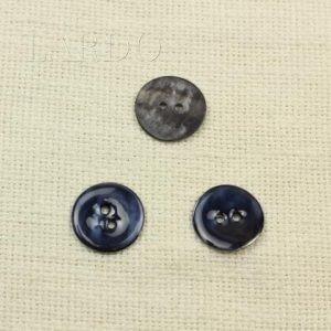Пуговица перламутр синий ∅ 2,2 см