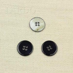 Пуговица перламутр тёмно-синий ∅ 2,2 см