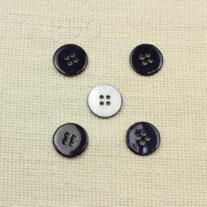 Пуговица перламутр тёмно-синий ∅ 1,7 см