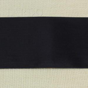 Репсовая лента синяя 7 см