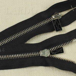 Молния Ri-Ri, неразъёмная, однозамковая, 14 см, №6, чёрная