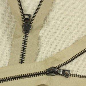 Молния Ri-Ri, разъёмная, однозамковая, 85 см, №6, тёмно-коричневая