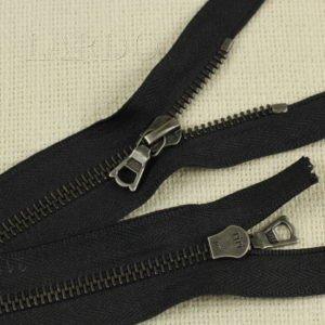 Молния Ri-Ri, неразъёмная, однозамковая, 11 см, №6, чёрная