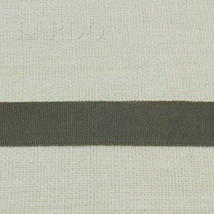 Репсовая лента серая 2,8 см
