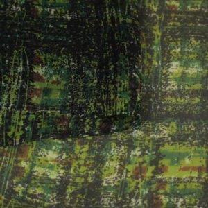 Шифон шёлковый в клетку