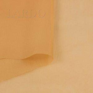 Шифон крэш шёлк светло-оранжевый