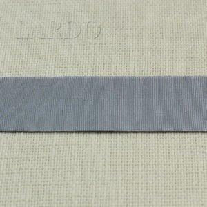 Репсовая лента ширина 4 см жемчужно-серая