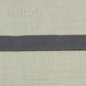 Репсовая лента ширина 2,3 см серо-бежевая