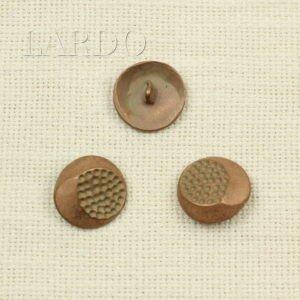 Пуговица металл цвета меди ∅ 2,3 см