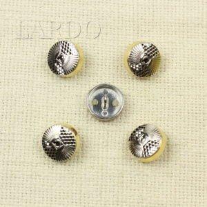 Пуговица металл ∅ 2,2 см