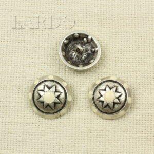Пуговица Roberto Cavalli металл и эмаль ∅ 2,0 см x 1,7 см