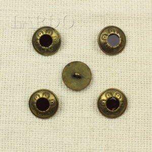 Пуговица металл и эмаль ∅ 1,7 см