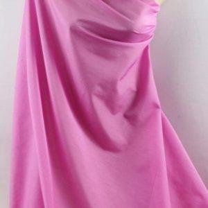 Батист розовый шёлк с хлопком