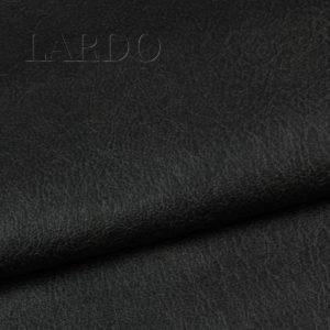 Кожа на трикотажной основе чёрная (искусственная)