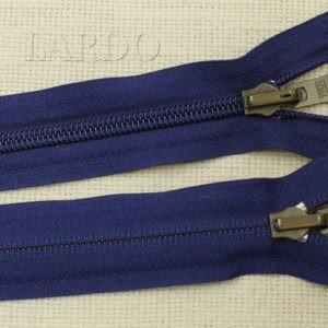 Молния YKK разъёмная, однозамковая, реверс (перекидной бегунок) 57 см, №5, синяя