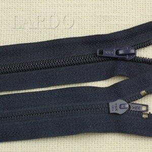 Молния YKK разъёмная, однозамковая, 60 см, №5, тёмно-синяя