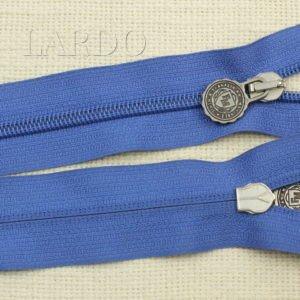 Молния разъёмная, однозамковая, 58 см, №5, голубая