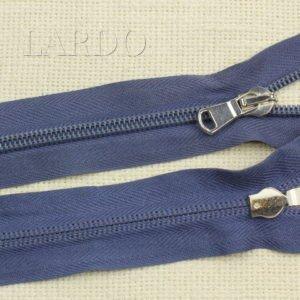 Молния разъёмная, однозамковая, 63 см, №5, синяя