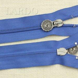 Молния разъёмная, однозамковая, 68 см, №5, голубая