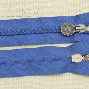 Молния разъёмная, однозамковая, 75 см, №5, голубая