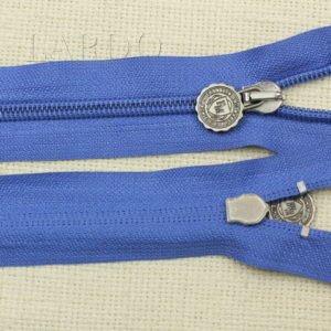 Молния разъёмная, однозамковая, 74 см, №5, голубая