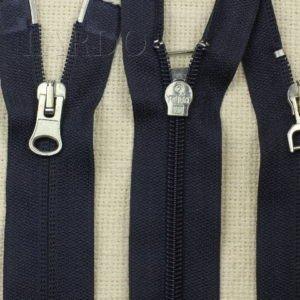 Молния RUBA разъёмная, двухзамковая, 68 см, №5, тёмно-синяя