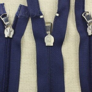 Молния UNIZIP разъёмная, двухзамковая, 70 см, №5, тёмно-синяя