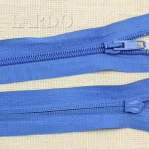 Молния разъёмная, однозамковая, 70 см, №5, голубая