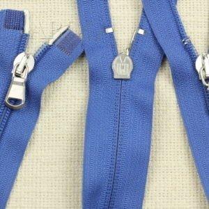 Молния разъёмная, двухзамковая, 63 см, №5, голубая