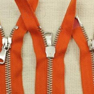 Молния MRS разъёмная, двухзамковая, 70 см, №5, оранжевая